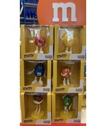 6 M&M's World Figurines Decorations Gifts Favors MULTICOLOR - $197.99