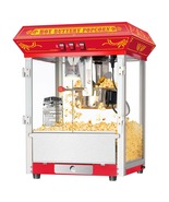 Great Northern Red Classic 8oz Commercial Popcorn Popper Machine Countertop - $234.88