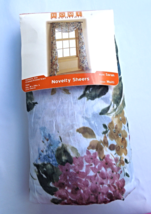 """Crushed Voile Printed Floral Scarf Valance - 54"""" x 216""""  by Home Essenti... - $13.99"""