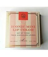 Avon Iconic Mini Lip Color Set Of 3 Satin Finish Limited Edition 0.13 oz... - $29.65