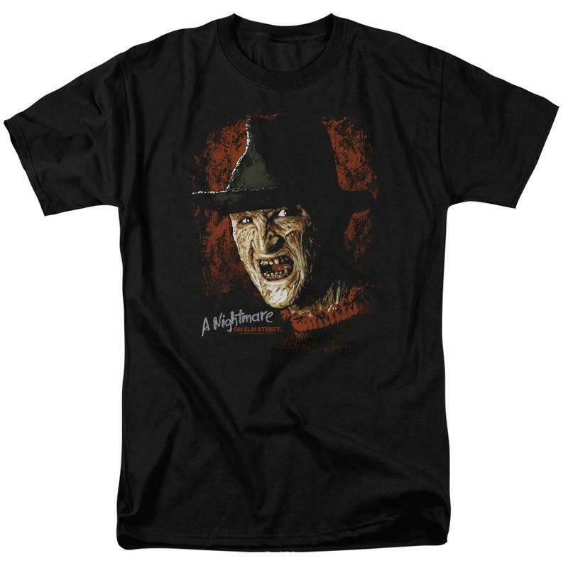 A Nightmare On Elm Street t-shirt Freddy Krueger slasher film graphic tee WBM607