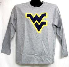 West Virginia Mountaineers Grey Long Sleeve Shirt Large - $13.99