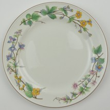 Citation Woodhill Pattern Salad Plate Stoneware China Floral Flower Tabl... - $6.74