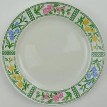 Farberware Botanica 3059 Salad Plate Stoneware China Floral Flower Latti... - $8.99
