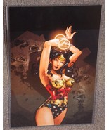 DC Wonder Woman Glossy Print 11 x 17 In Hard Plastic Sleeve - $24.99