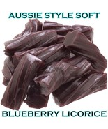 AUSSIE Gourmet Blueberry Licorice 1 LB Chewy Gourmet Bulk Soft Candy New Candies - $9.99