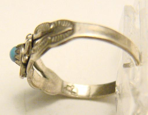 CHILD'S STERLING RING - NAVAHO