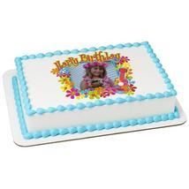 Luau Birthday Edible Cake Topper Frame - $9.99+