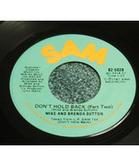MIKE And BRENDA SUTTON 45 on SAM Don't Hold Back Pt 1 & 2 - $14.77