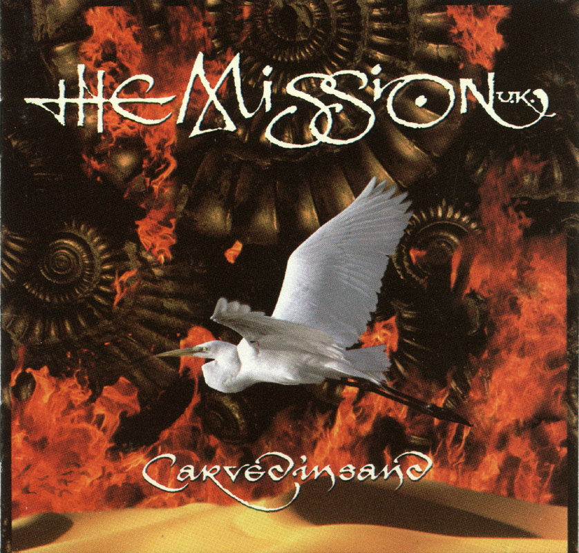 The Mission UK - Carved in Sand CD Goth Rock