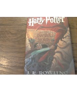 Harry Potter and the Chamber of Secrets By J.K. Rowling (1998 Hardcover) - $13.95