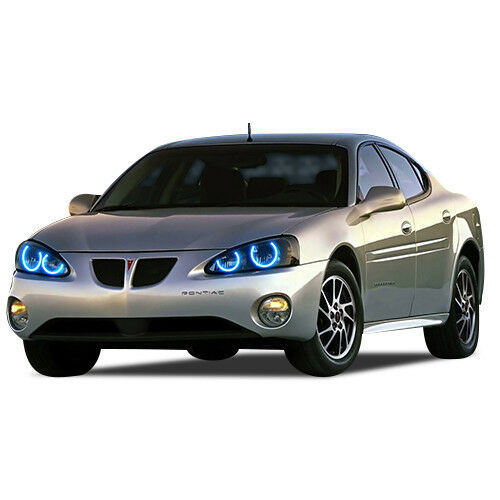 Primary image for Bright Blue LED Headlight Halo Ring Kit for Pontiac Grand Prix 04-08
