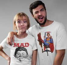 MAD Magazine Alfred E Newman T-shirt  retro 1970's funny graphic tee WBT349 image 3