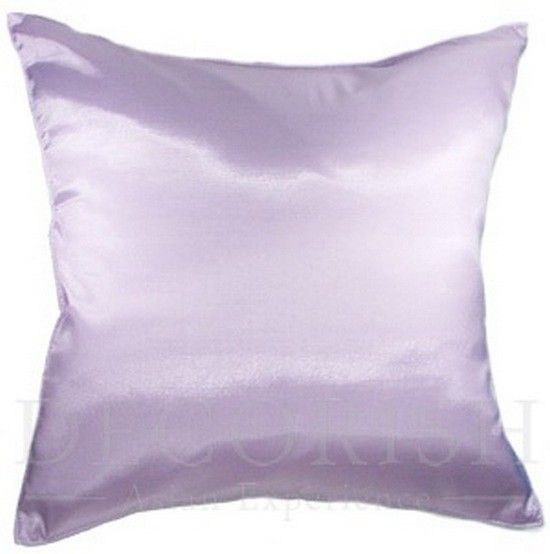 Oversized Decorative Pillows For Bed : 1x SILK LARGE DECORATIVE THROW PILLOW COVER FOR COUCH SOFA BED SOLID COLOR 20x20 - Pillows