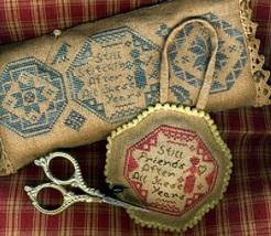 Still Stitching Still Friends cross stitch chart Homespun Elegance - $7.65