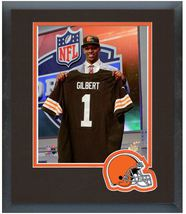 Justin Gilbert 2014 NFL Draft #8 Draft Pick Browns - 11 x 14 Matted/Framed Photo - $42.95