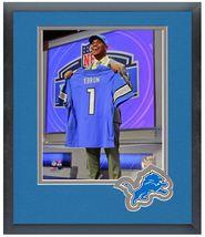 Eric Ebron 2014 NFL Draft #10 Draft Pick Lions - 11 x 14 Matted/Framed P... - $836,92 MXN