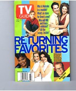 TV Guide Sept. 9-15, 2000 - Volume 48, No. 37, Issue #2476 Returning Fav... - $2.95