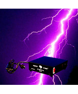 DJ Special Effects PERFECT STORM Thunder Sounds Lights Controller Hallow... - $53.43
