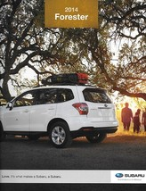 2014 Subaru FORESTER brochure catalog US 14 2.5i Limited Touring 2.0XT - $6.00