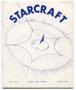 Starcraft Vol. 4, No. 1 (Spring 1969) metaphysics ufology contactees alien - $12.00