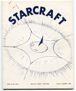 Starcraft Vol. 3, No. 3 & 4 (Fall & Winter 1968) metaphysics ufology con... - $12.00