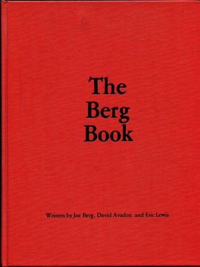 Primary image for The Berg Book by Joe Berg, David Avadon & Eric Lewis 1983 1st Ed cards magic
