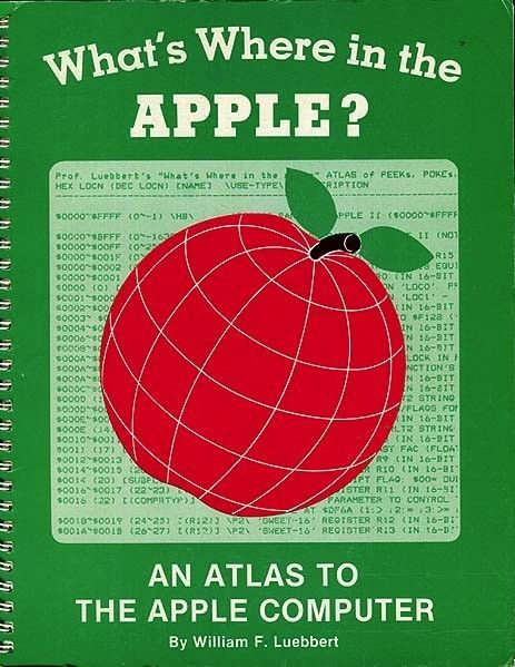 Primary image for What's Where in the Apple? An Atlas to the Apple Computer Luebbert 1981 1st Ed