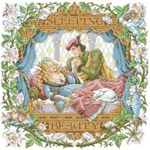 Sleeping Beauty cross stitch chart Kooler Design Studio - $16.20