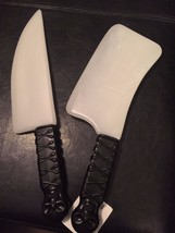 Glow in the Dark Weapons - Knife or Meat Cleaver - Perfect for Cosplay C... - $2.49
