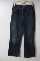 Chico's Boot Cut Jeans Sz 0 Short Denim Womens Medium Wash Pants Stretch... - $14.43