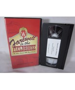 Wisconsin Varsity Band Concert 1997 Farewell to the Fieldhouse VHS Leckr... - $15.83