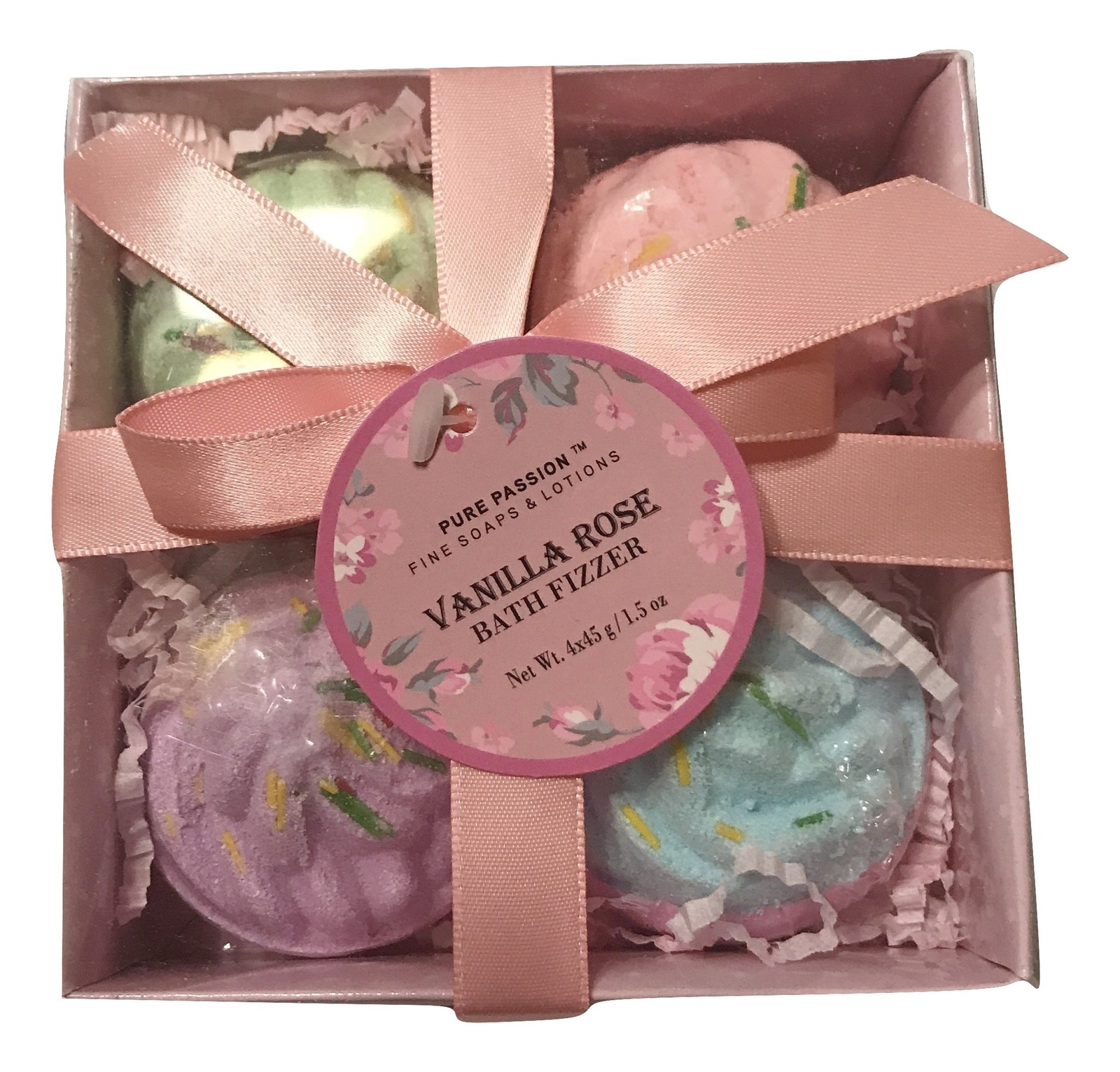 Pure Passion Vanilla Rose Bath Fizzer Gift and 50 similar items