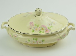 Homer Laughlin Virginia Rose Fluffy Rose VR128 Covered Vegetable Bowl ca... - $104.99