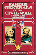 Famous Generals of the Civil War Poker Deck Game - $6.99