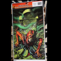 Horror Cling-ZOMBIE GHOUL GRAVE-Floor Wall Grabber Sticker Halloween Dec... - $4.92