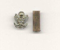 WWII Mini 2cd Lieutenant Bar & Eagle Insignia - $3.99