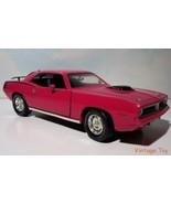 ~ 1970 Plymouth Hemi Cuda - 1:18  Barracuda diecast - Panther Pink - $22.50