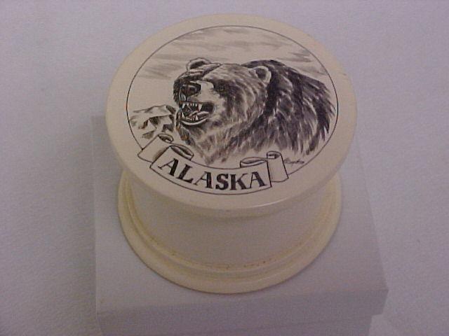 BEAR PILL BOX ALASKAN KODIAC