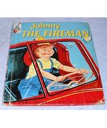 Vintage Rand McNally Elf Book Johnny the Fireman 1954 - $6.95