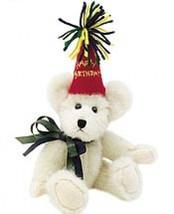 "Boyds Bears ""H. B. Bearwish"" 8"" Brthday Bear -#903003- NWT-2001 -Retired - $12.99"