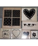 Stampin Up Loving Hearts - $14.36