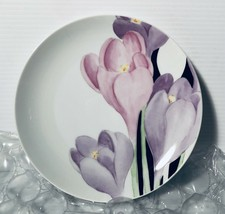 One Mikasa Crocus, VOGUE L1052 Salad Plate 7.5 Inches Easter Spring - $13.99