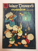 Walt Disney's Comics and Stories #194   Donald Duck   Mickey Mouse   Dell - $9.45