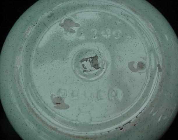 Bauer Pottery Retro Eames Era Speckled Jardiniere