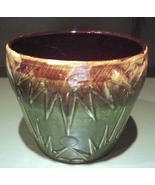 Large Vintage Glazed Pottery Pot Robinson Ransb... - $215.95