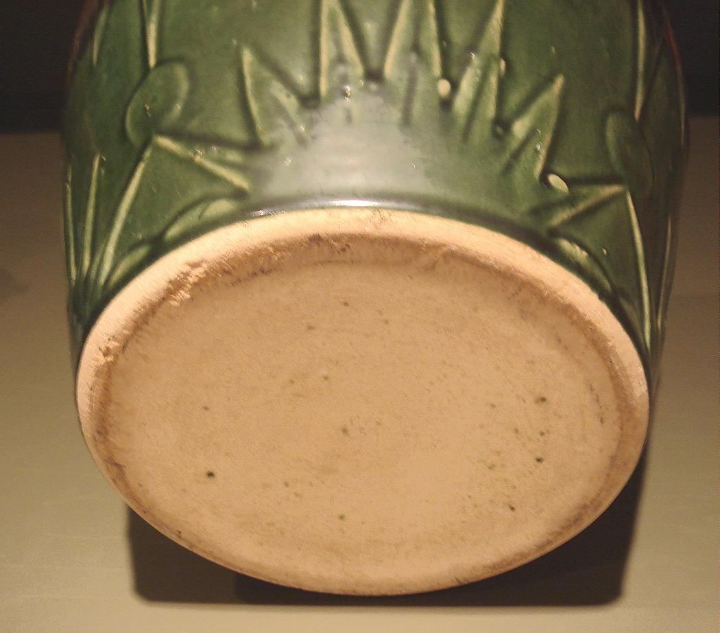 Large Vintage Glazed Pottery Pot Robinson Ransbottom Pottery