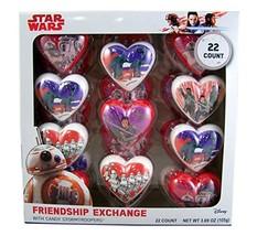 Star Wars Valentines Day Friendship Exchange Plastic Heart with Candy St... - $13.99