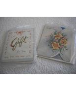Lot of 4 Vintage Gift Cards - $4.00