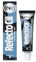 RefectoCil Eyelash & Eyebrow Cream Hair Dye, Blue Black  .5 oz
